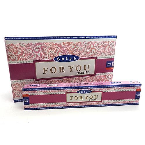 For You - Satya Incense Sticks