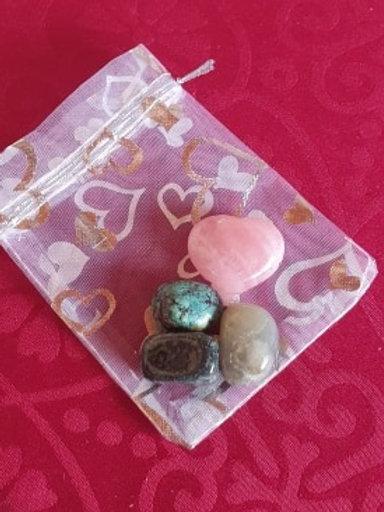 Heart Chakra - Gemstone Healing Pack