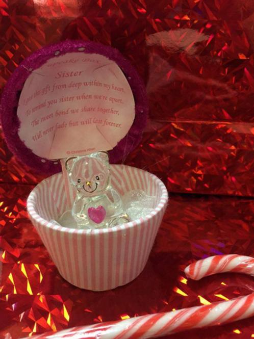 Sister - Cupcake Teddy