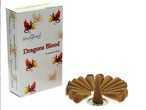 Dragons Blood - Stamford Incense Cones