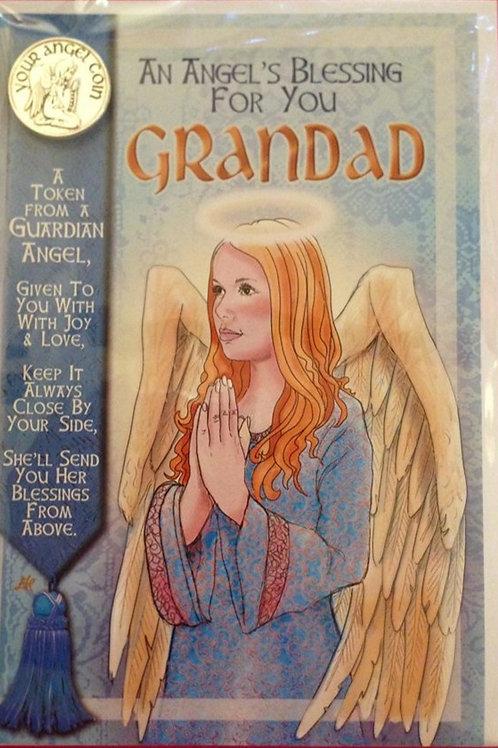 Grandad-  Angel Coin Card