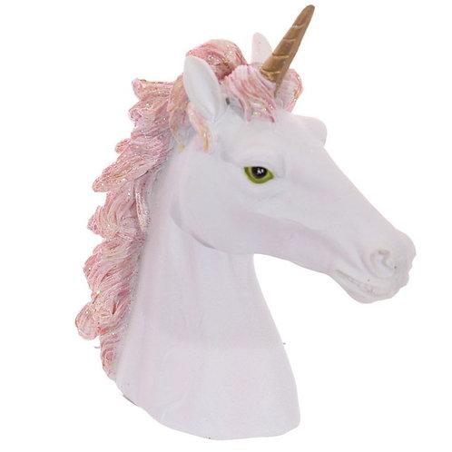 Unicorn Bust - Pink