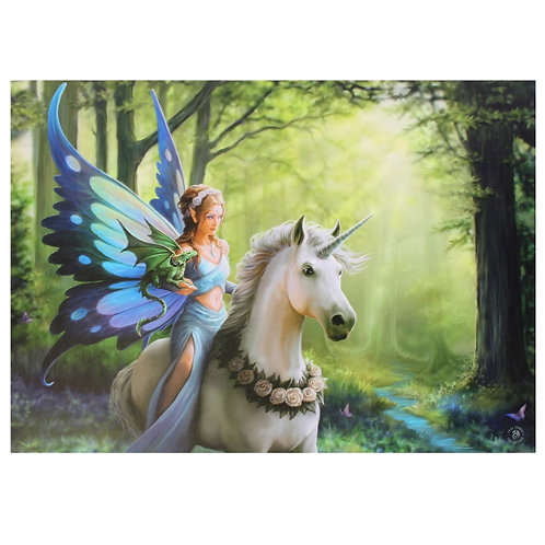 Realm of Enchantment - Large Canvas (Anne Stokes)