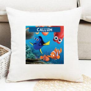 Finding Nemo - Velvet Cushion - Names Only