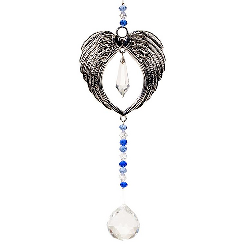 Angel Wing - Hanging Crystal