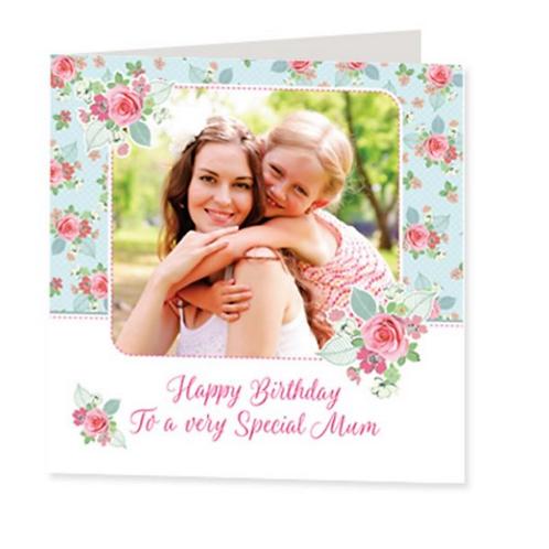 Luxury Card - Floral Design