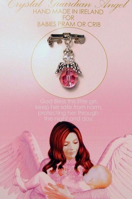 Baby Girl Angel Pin