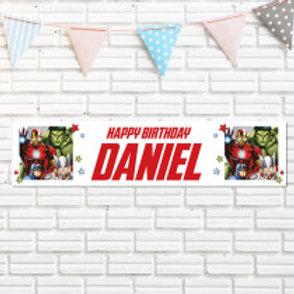 Marvel Hero's Banner - Name