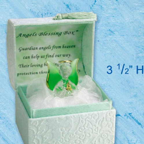 Angels Blessings (Green) - Blessings Box