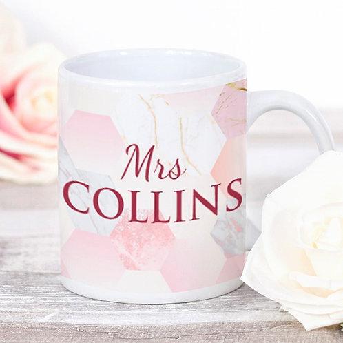 Mrs (Pink) - Ceramic Mug