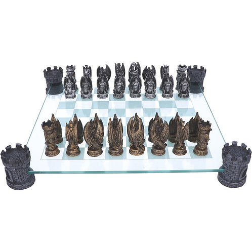 Kingdom of the Dragon - Chess Set