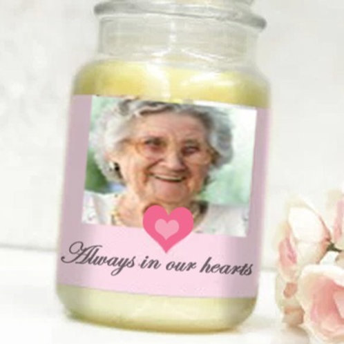 Memorial Label - Always in our hearts