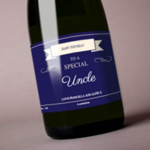 Uncle - Bottle / Candle Label - Name