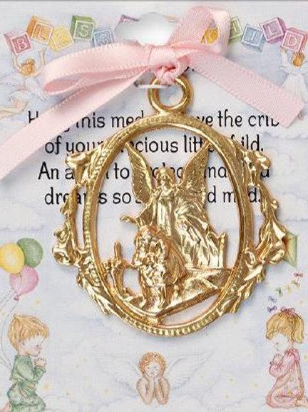 Baby Girl - Crib Medal