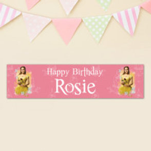 Beauty & The Beast Banner - Name