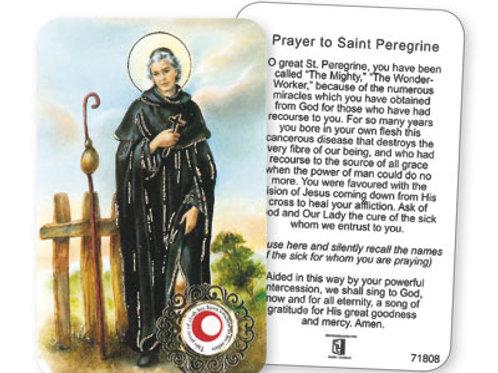 Saint Peregrine  - Prayer Leaflet