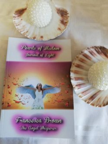 Pearls of Wisdom Journal of Light by Francesca Brown