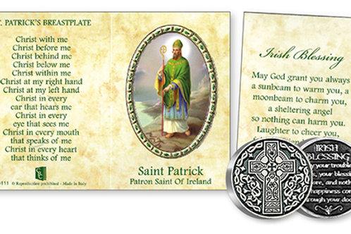 Saint Patrick - Prayer Coin & Booklet