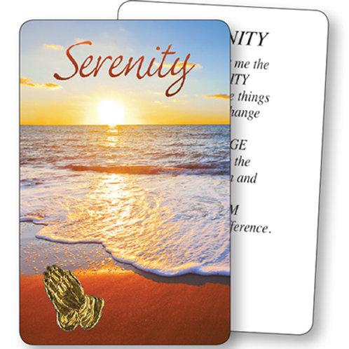 Serenity (Beach) - Prayer Leaflet