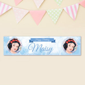 Snow White Banner - Name