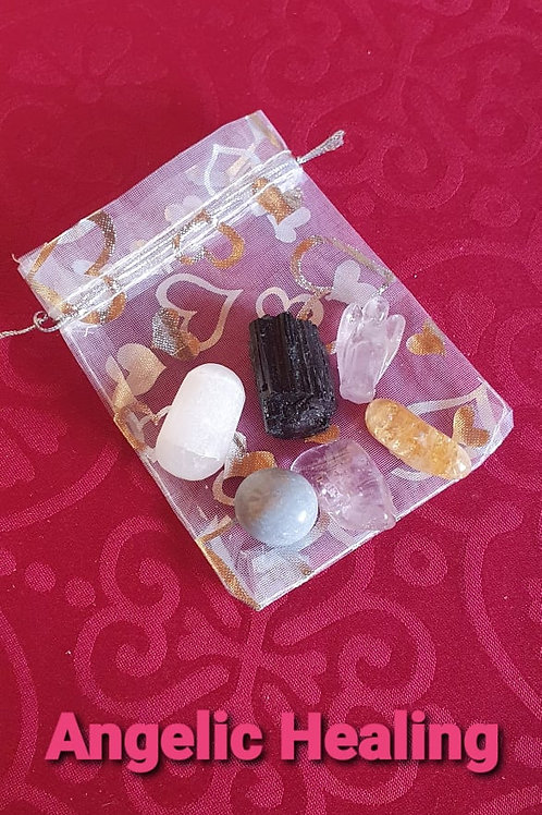 Angelic Healing  - Gemstone Healing Pack
