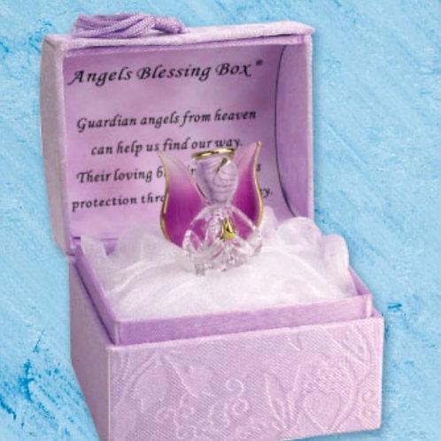 Angels Blessings (Purple) - Blessings Box