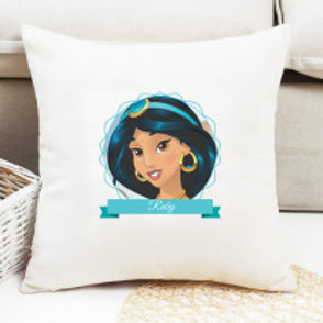 Aladdin - Velvet Cushion - Names Only