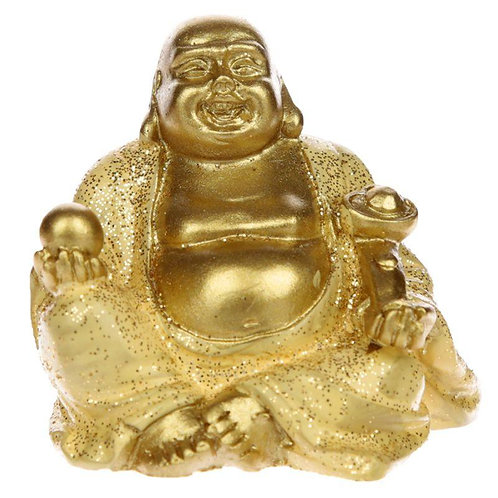 Mini Lucky Buddha (Gold) - Collectable