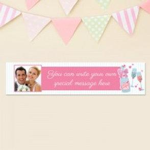 Wedding Banner - Photo & Text