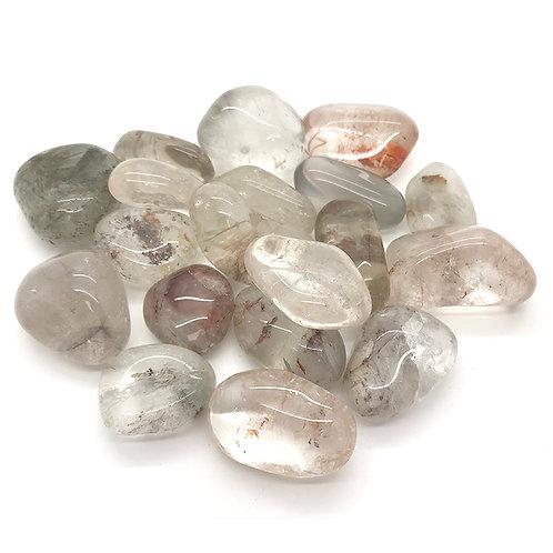 Rutilated Quartz - Tumblestone Crystal