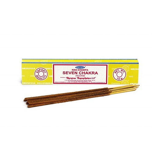Seven Chakra - Satya Incense Sticks
