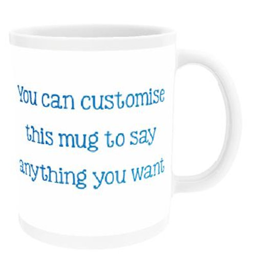 Personalised Mug with Text/Photo