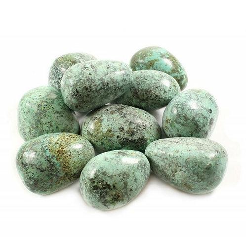African Turquoise - Tumblestone Crystal