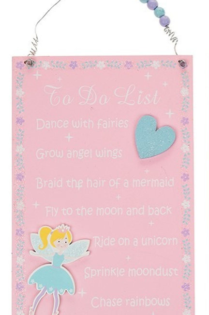 Fairy To Do List - Pink