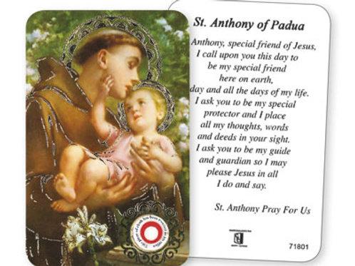 Saint Anthony - Prayer Leaflet