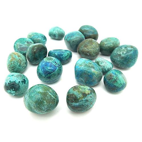 Chrysocolla - Tumblestone Crystal
