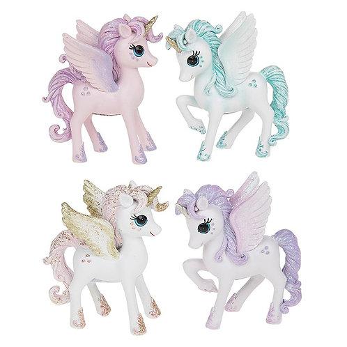 Glitter Unicorn Standing