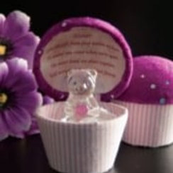 Sister - Cupcake Teddy (Purple)