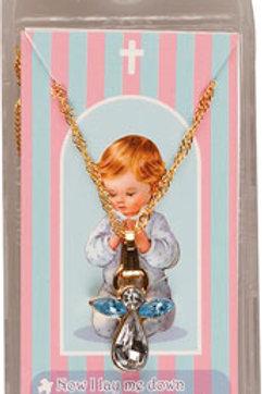 Praying Boy Necklace