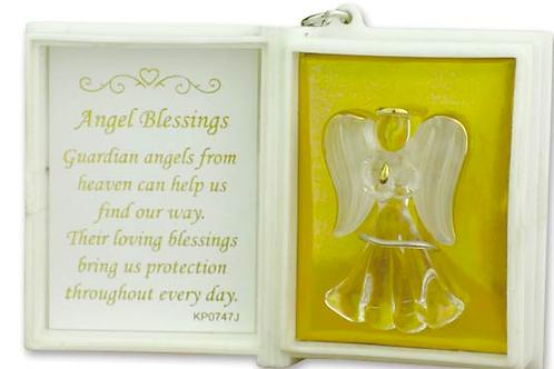 Angel Blessings Key Ring Booklet