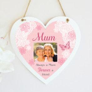 Mum Hanging Heart  - Photo