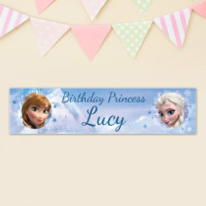Frozen Banner - Name