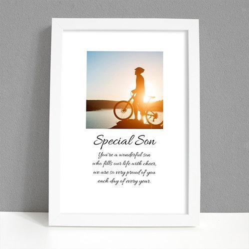 Special Son - Framed Artwork - Photo
