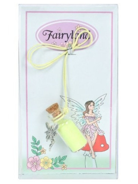 Fairy Dust Necklace - Yellow