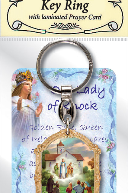 Our Lady of Knock - Keyring and Card