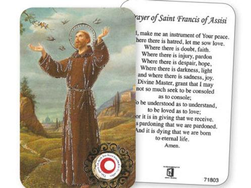 Saint Francis - Prayer Leaflet