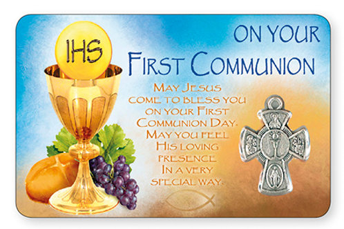 First Holy Communion Pocket Card