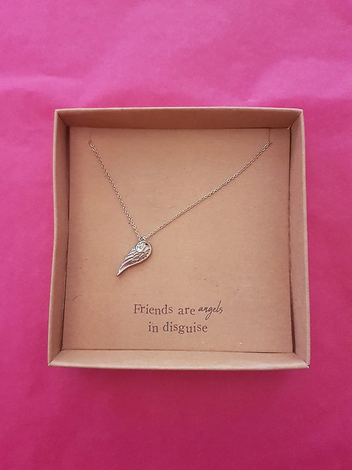 Friends - Silver Plated Necklace