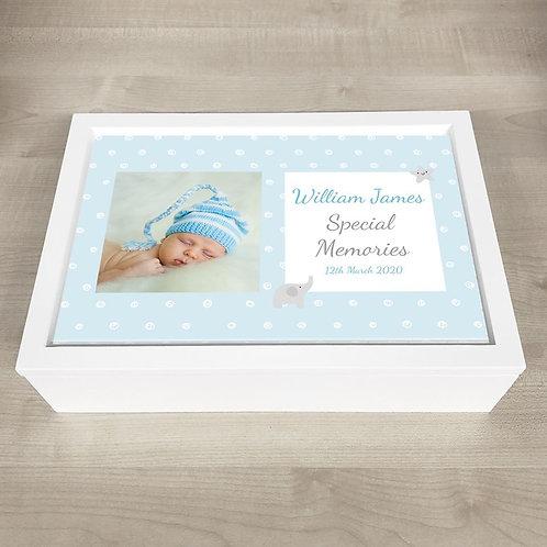 New Baby Memory Box - Boy