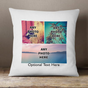 Velvet Cushion - Three Photos & Text